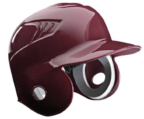 Rawlings Coolflo Style Batting Helmet (Maroon Hat, Size 7 3/8)