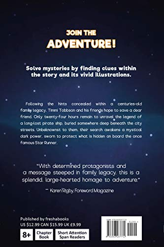 Legend of the Star Runner: A Timmi Tobbson Adventure Book for Boys and Girls (Solve-Them-Yourself Mysteries for Kids 8-12)