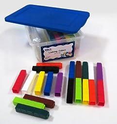 ETA hand2mind UniLink Linking Cubes, Set of 300