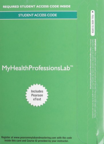 MyHealthProfessionsLab with Pearson eText -- Access Card -- for The Pharmacy Technician