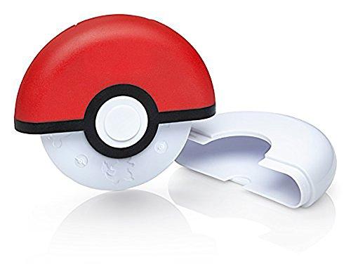 Pokemon Poke Ball Pizza Cutter (Plastic Pizza Cutters)