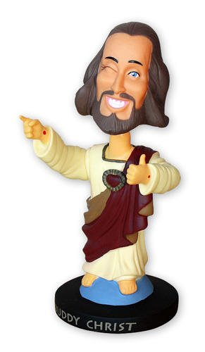 "Buddy Christ - Head Knocker / Bobblehead (Size: 5.5"")"