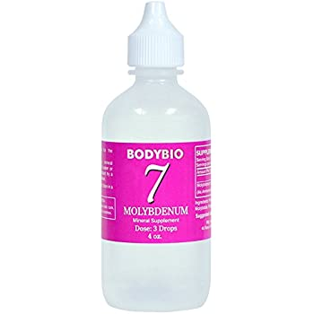 BodyBio - Molybdenum #7 Liquid Mineral, 4oz
