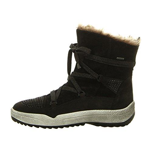 Ara 12-49762 St-Anton mujer boots schwarz/teak
