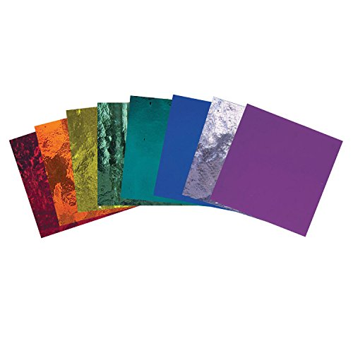 Bullseye Rainbow Transparent Glass Pack – 90 Coe