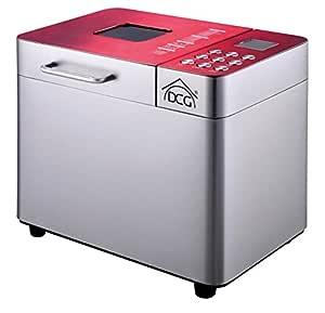 DCG - Máquina para hacer pan Z6-N2BX-YLC3, 550 W: Amazon.es: Hogar
