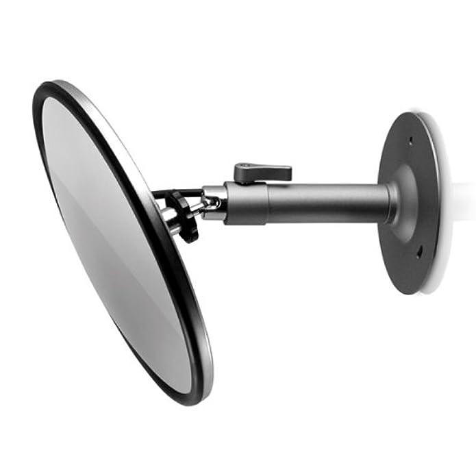 securityman mirrorcam hidden color ccd mirror camera kit (black)