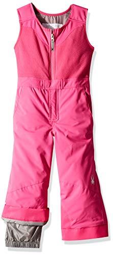 Spyder Girls' Bitsy Sparkle Ski Pant, Taffy Pink/Taffy Pink/Taffy Pink, Size -