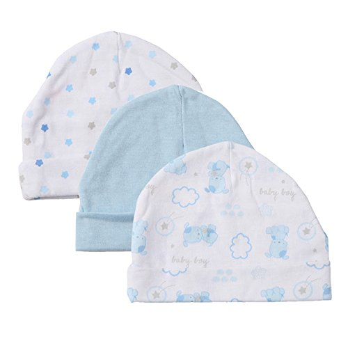 2016 Real Hot Sale Character Unisex Cotton 0-3 Months 4-6 Months Fitted Baby Hats & Caps,infant Caps, 3 Pack, 0-3 (Fake Beards For Sale That Look Real)