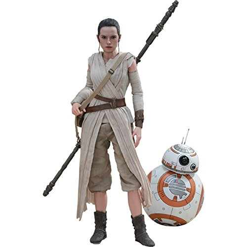 Download Movie Masterpiece - 1/6 Scale Fully Poseable Figure: Star Wars The Force Awakens - Rey & BB-8 Set
