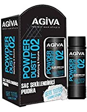 Agiva Styling Powder Wax 20 gr Black-Strong Styling