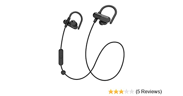 Amazon.com: TaoTronics PHOBOS Sweatproof Weatherproof Sports Headphones (Black): Cell Phones & Accessories