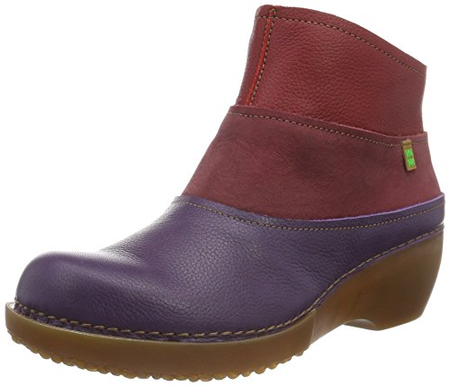 El Naturalista Damen Nc79 Soft Grain Purple-Rioja-Tibet/Tricot Schlupfstiefel Mehrfarbig (PURPLE-RIOJA-TIBET NV3)