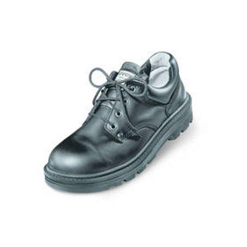 Uvex 8450.9–8Classic lace-up Safety shoe con Hydroflex soletta in schiuma 3D, S2, EU 42, Taglia 8, nero
