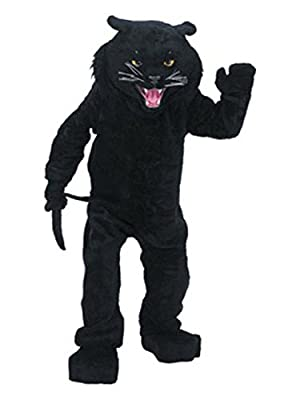 Panther Mascot Complete