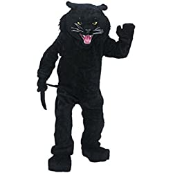 Rubie's Costume Co Men's Black Panther Mascot Costume One Size Fits Most Black