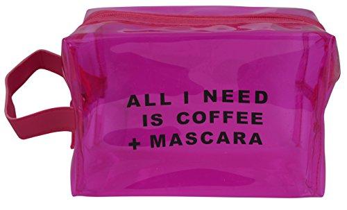 Travel N' Go Vegan Leather Chick Waterproof Cosmetic Bag Mak