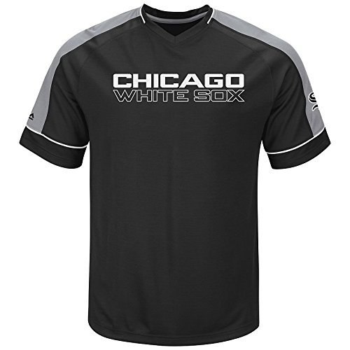 Chicago White Sox MLB Youth Lead Hitter Synthetic Cool Base T-shirt (Youth Large (Sox Mlb Youth Jersey)