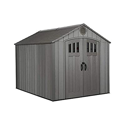 Plastic Shed 10x8 Apex Lifetime