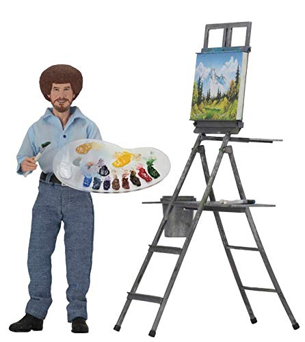 NECA Bob Ross 8 Inch Clothed Action Figure from NECA
