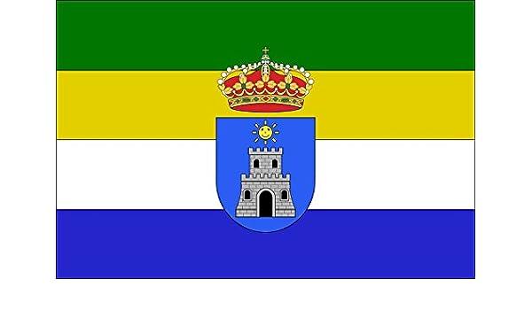 magFlags Bandera Large Cazalilla Jaén, Andalucía, España   Bandera Paisaje   1.35m²   90x150cm: Amazon.es: Jardín