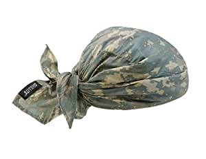 Ergodyne Chill-Its 6710 Evaporative Cooling Triangle Hat, Camo