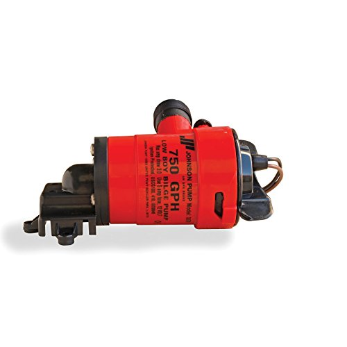 Johnson Pump Low Boy Bilge Pump - 750 GPH, Model: 33703