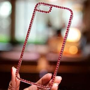 IPhone 6 Plus Case, Hundromi Iphone 6 Plus [5.5] 3d Handmade Clear Bling Crystal Rhinestone Diamond Skin Case Cover