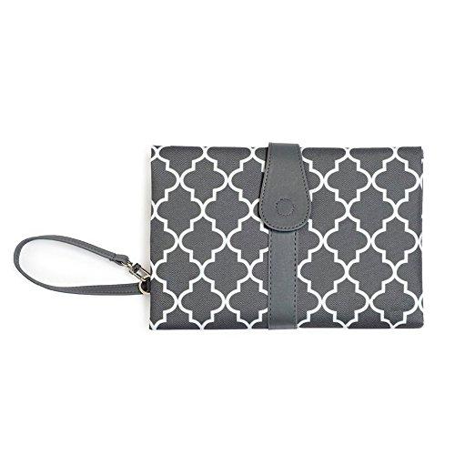 Merlilife - Portable Diaper Changing Pad Wickelunterlage Mini Tasche Wasserdicht für Unterwegs