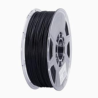 Black Esun 1.75mm Black Abs 3d Printer Filament 1kg Spool 2.2lbs