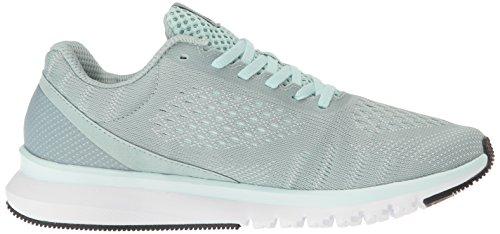Reebok Women's Print Smooth Ultk Running Shoe, 9 Seaside Grey/Mist/White/Coal