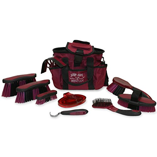 Bentley Slip Not Hoof Brush Pink At Burnhills: Bentley Slip-Not Deluxe Equestrian Microban Antibacterial