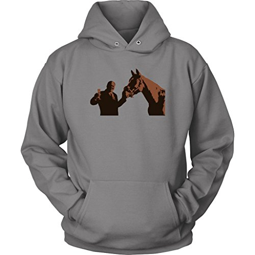 The Sopranos - Tony Soprano with Pie O My Horse Painting Unisex Hoodie