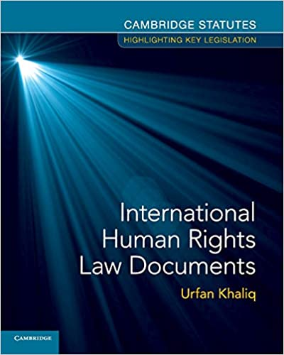 Book's Cover of International Human Rights Law Documents (Anglais) Broché – 25 octobre 2018