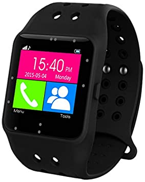 "Prixton sw11 - Smartwatch DE 1.3"" (Bluetooth, iOS, Android) Color Negro"