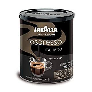 Lavazza Espresso Italiano - Ground Coffee, 8-Ounce