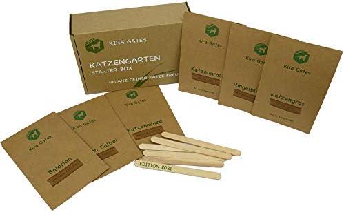 Kira Gates Cat Garden Starter BoxCat Herbs in a Gift Set