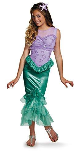 Ariel Tween Disney Princess The Little Mermaid Costume, Medium/7-8