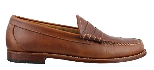 5dbcc65f5da G.H. Bass   Co. Men s 70-10992 Larson Pull Up Leather Penny Loafer ...