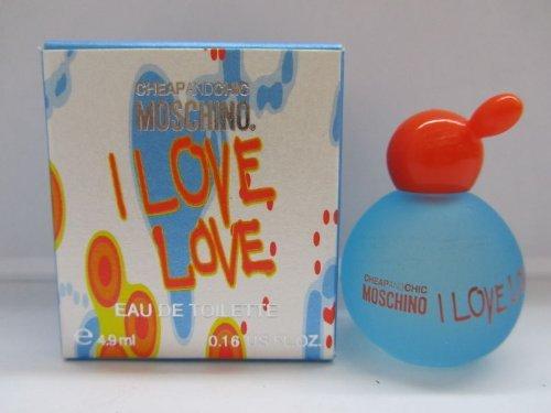 I Love Love by Moschino Perfume Women 0.16 oz Eau de Toilette Splash (I Love Love For Women Eau De Toilette)
