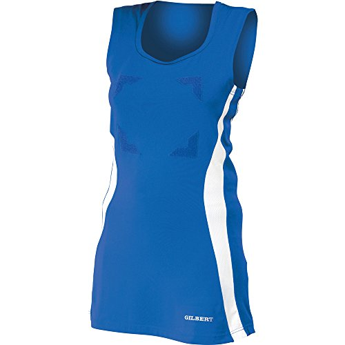 Netball White Ladies Royal Dress Gilbert Eclipse 8RYwU