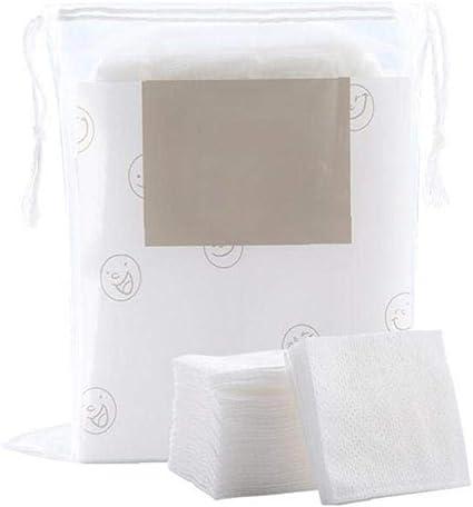 Almohadillas de algodón orgánico estética facial Desmaquillante de ojos almohadillas de algodón Puff Herramientas de eliminación de maquillaje 200pcs: Amazon.es: Belleza