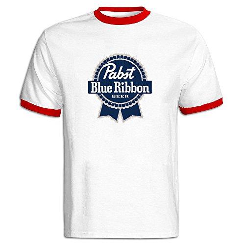 fashion-mens-pabst-blue-ribbon-logo-cotton-t-shirt