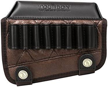 استراحت گونه چرمی TOURBON چرم با دارنده تفنگ شل