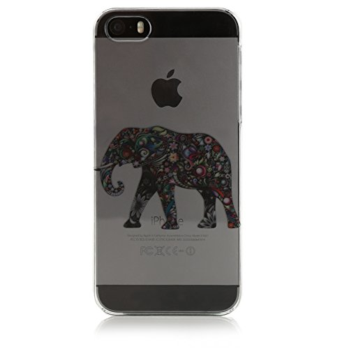 Johnny Palermo 1127064 Elefant Tattoo Hülle für Apple iPhone 5