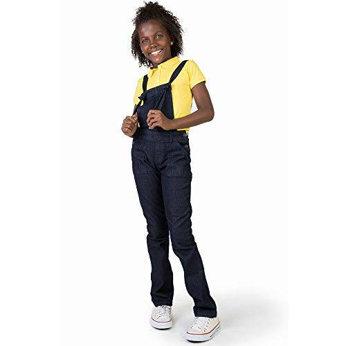 Jardineira Jeans Infantil Feminina Stone STONE/14