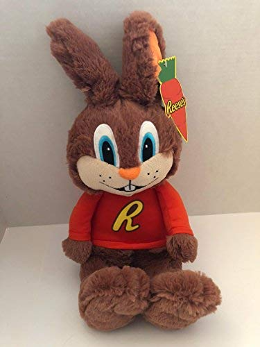 """Reese's Hershey's Candy Reester Bunny Plush Stuffed Animal Doll Toy Collectible Gift 12"""" Animal Adventure"""