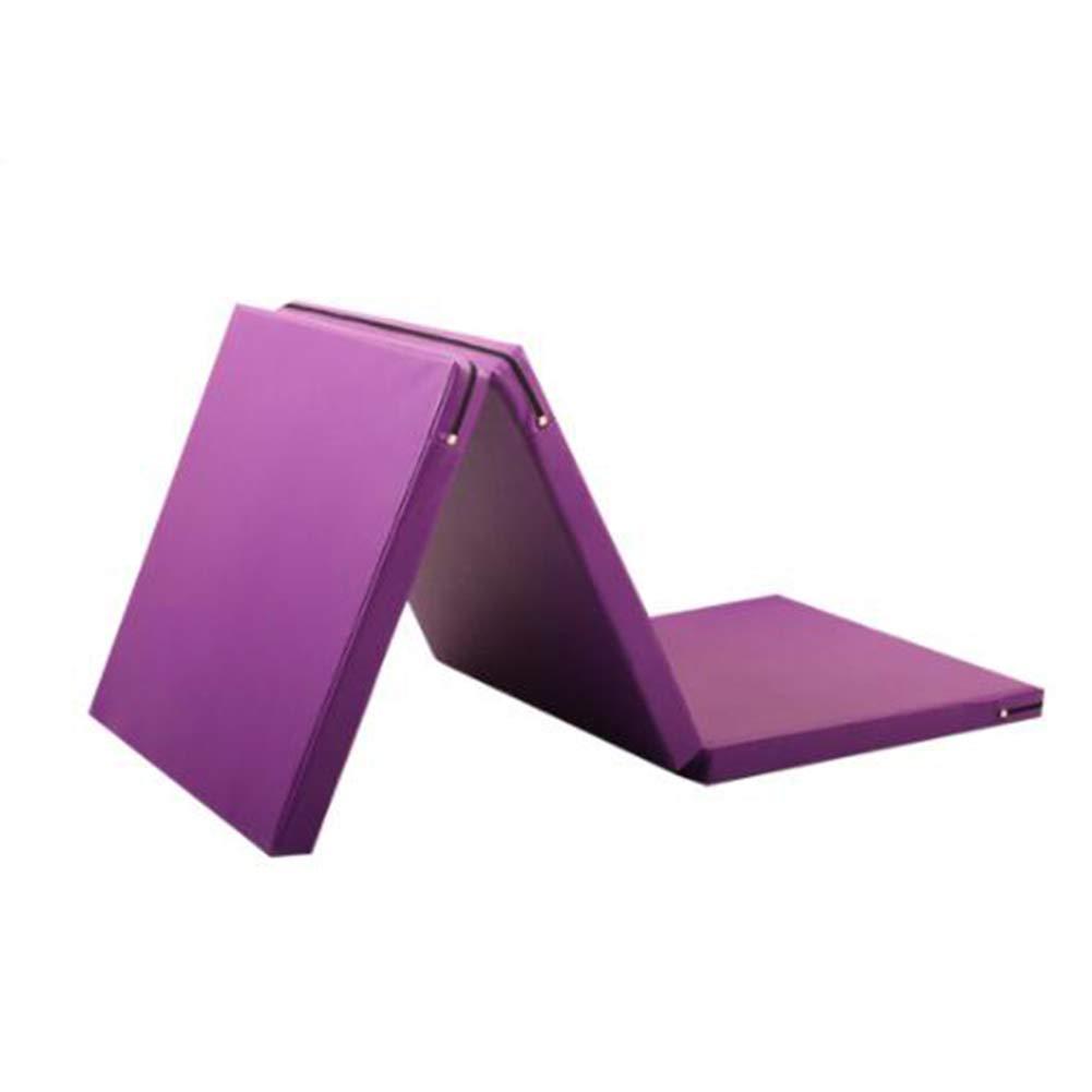 【ついに再販開始!】 ZJ タンブリングマット折りたたみ体操マットPUパネルジムフィットネスエクササイズマット軽量ホームジムマットキャリングハンドル (色 : Purple, サイズ : さいず Purple, : Purple 80×180×5CM) B07MKWWYY4 Purple 50×150×5CM 50×150×5CM|Purple, Dainese Japan:deda9092 --- arianechie.dominiotemporario.com