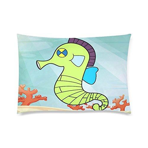 Diseño moderno dibujos animados caballito de mar funda para ...