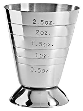 Multi-Level Stainless Steel Jigger Cup by Franmara